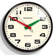 silent wall clocks retro wall clocks black convex wall clock silent sweeping movement