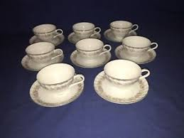 teahouse dansico collection china dansico china tea house cups saucers 8 sets