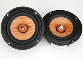 cool looking speakers wicked cool looking drivers wood cone techtalk speaker building