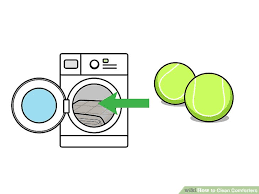 Wash Comforter In Washing Machine How To Clean Comforters 13 Steps With Pictures Wikihow