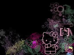 black background free hd download kitty black background