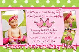 1 Year Invitation Birthday Cards Invitation Cards Format For Birthday Invite Invitation Printable