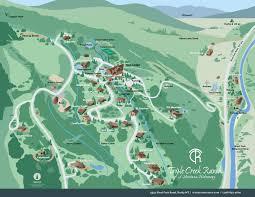 Table Rock Lake Map Ranch Map Triple Creek Ranch