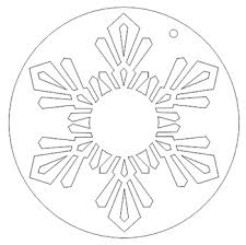 how to create a snowflake ornament in corel x6