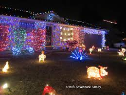 Christmas Lights House by Christmas Street In Taylorsville Utah U0027s Adventure Family