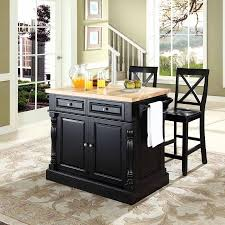kitchen islands with butcher block tops crosley furniture butcher block top kitchen island with 24 x back