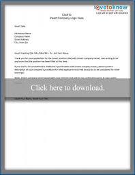 professional letter samples lovetoknow