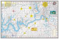cumberland lake map ky lake maps kingfisher maps inc