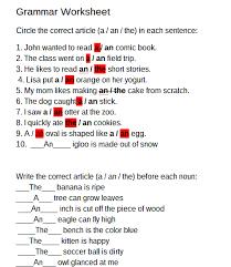 angari panmure bridge grammar worksheet