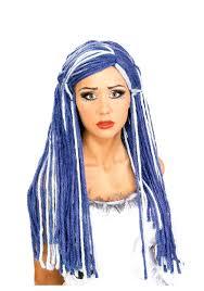 halloween costumes wigs blue wigs