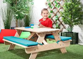 childrens wooden picnic table benches 63 kids play bench kids wooden picnic table outdoor play bench