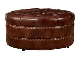 Rustic Leather Armchair Furniture Inexpensive Distressed Brown Leather Ottoman Cube Ideas