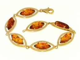 gold amber bracelet images Producer of silver and gold jewellery set with baltic amber jpg
