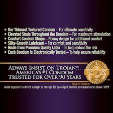 Comfortable Condoms Amazon Com Trojan Studded Bareskin Lubricated Condoms 10 Count