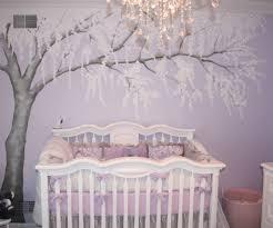 Nursery Room Tree Wall Decals Adorable Design Ideas Using Grey Motif Wallpaper And Rectangular