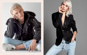 Used Jeans Clothing Line Guess U0027 His Hers Line Shows Unisex Clothes Are More Than Just A