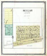 beulah dakota map mercer county 1918 dakota historical atlas