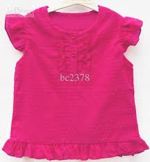 hot pink colour european brand girls t shirts hot pink color school kids t shirt