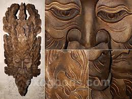 large wood carvings wooden mask from indonesia for house interior decoration large