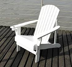 Outdoor Patio Lounge Chairs Outsunny Adirondack Outdoor Patio Lounge Chair White