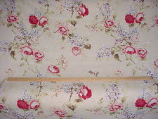Upholstery Fabric With Birds Linen With Birds Upholstery Fabric Uk Edinburgh Weavers Wonderland