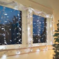 indoor christmas window lights led light curtain shimmering holiday magic in just minutes indoors
