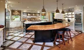 kitchens with island benches curved kitchen island benches the enchanting image on top is