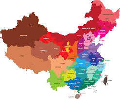 Guilin China Map by Huaxia Icec