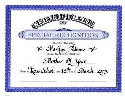 fake awards certificates template update234 com template