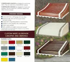 Window Awning Kits 12 Places To Buy Aluminum Awnings Including From Three Companies