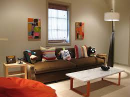 Dark Brown Sofa by Designs Ideas Small Beige Living Room With Dark Brown Sofa And