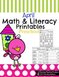 spring preschool worksheets planning playtime