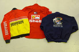 ferrari jacket sold collection of ferrari items auctions lot c shannons