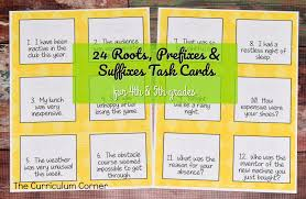 roots prefixes u0026 suffixes instruction pack the curriculum