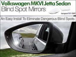 Where To Install Blind Spot Mirror Ecs News Volkswagen Mkvi Jetta Sedan Blind Spot Mirrors
