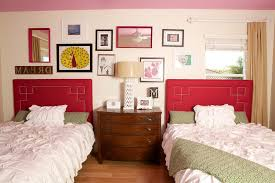 Shabby Chic Twin Headboard by Red Twin Headboard Bedroom Traditional With Red Patterned Throw