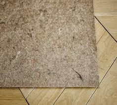 Best Non Slip Rug Pad For Hardwood Floors Premium Rug Pad Pottery Barn