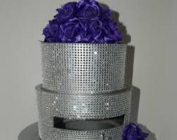 bling wedding programs items similar to purple bling wedding cake card box program box
