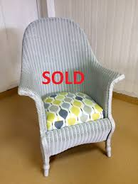 vintage lloyd loom wicker chair david warburton limited