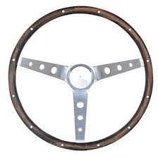 steering wheel for mustang 966 wood steering wheel w mustang horn button 15 inch