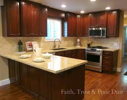 average cost of painting kitchen cabinets 2017 with to refinish