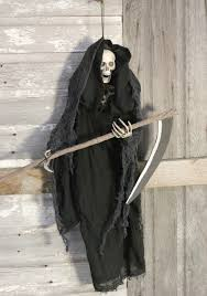 halloween grim reaper prop hanging reaper with sickle