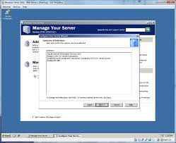 steps to setting up a windows server 2003 web server on virtualbox
