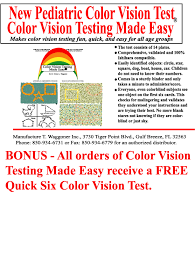 How To Test For Color Blindness Colorvisiontesting Colorblind