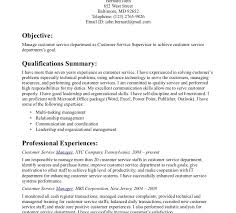top resume examples customer service highlights of qualifications