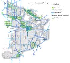 Beaverton Oregon Map by Beaverton Active Transportation Plan