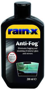 rain x 81199200 anti fog repellent amazon co uk car u0026 motorbike