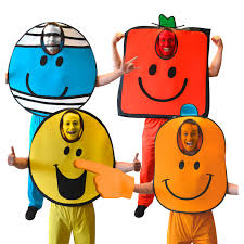 these mr men costumes could be easily diyed book week