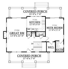 craftsman cottage floor plans craftsman cottage 6643 3 bedrooms and 2 baths the house designers