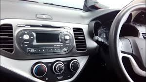 kia picanto 2011 onwards radio removal guide refit part